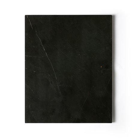 HK-living Snijplank zwart gepolijsd marmer 50x40x2cm