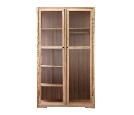 Housedoctor Cabinet Poem natural brown wood 120x55x210cm