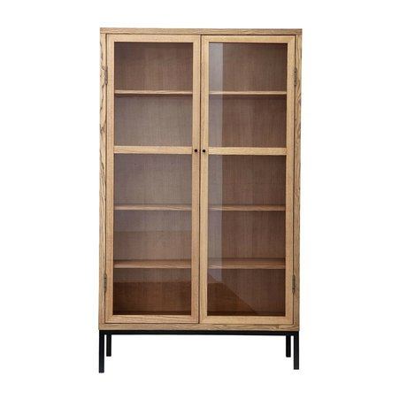 Housedoctor Cabinet Harmony natural brown wood L 120x40x205cm