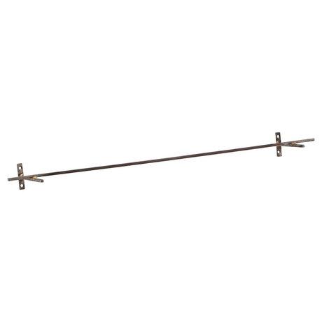Housedoctor Wandrek Add antiek ijzer 70x9,5x5cm
