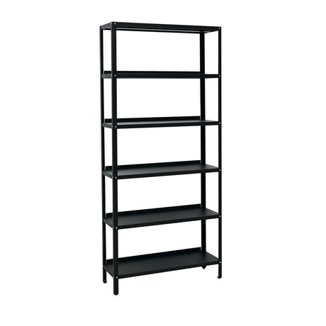 Housedoctor Shelf cupboard Use black steel 90x30x200cm