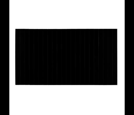 LEF collections armleuning dienblad flexibel M naturel zwart eikenhout 44x24cm