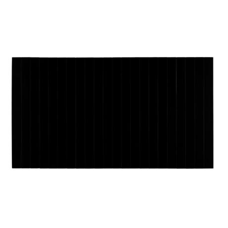 LEF collections accoudoir plateau flexible M naturel chêne noir 44x24cm