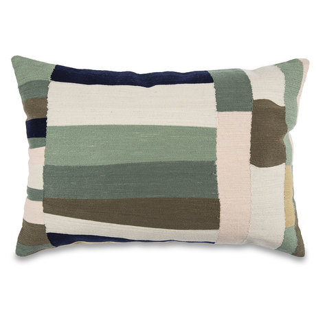 mister FRENKIE Cushion Squares multicolour cotton 45x45cm