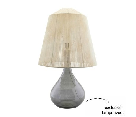 Housedoctor Lampshade String beige paper iron Ø57x53.5cm