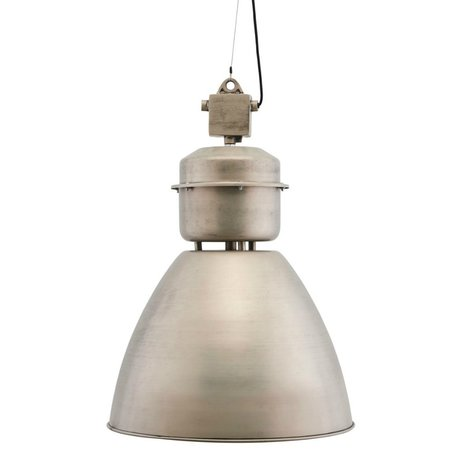 Housedoctor Hanging lamp Volumen antique silver metal Ø54x60cm