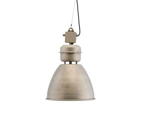 Housedoctor Hanging lamp Volumen antique silver metal Ø35x52cm