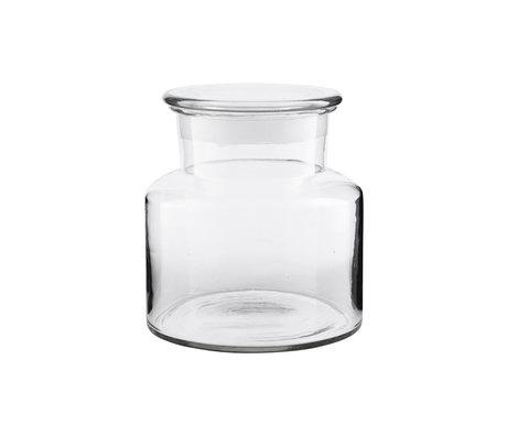 Housedoctor Voorraadpot Farma transparant glas 2000ml Ø20x18cm