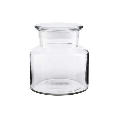 Housedoctor Vorratsglas Pharma transparentes Glas 2000ml Ø20x18cm