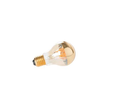 LEF collections Ampoule Zunyi MIROIR or Ø6x10.5 cm