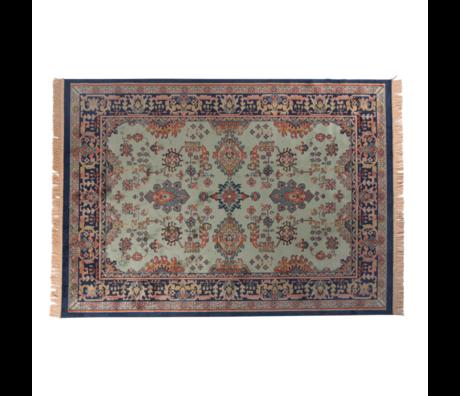 LEF collections Teppich Raz mehrfarbiges Textil 200X300cm