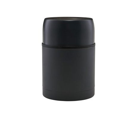 Housedoctor Thermos flask Matt dark gray steel Ø10x15.5cm