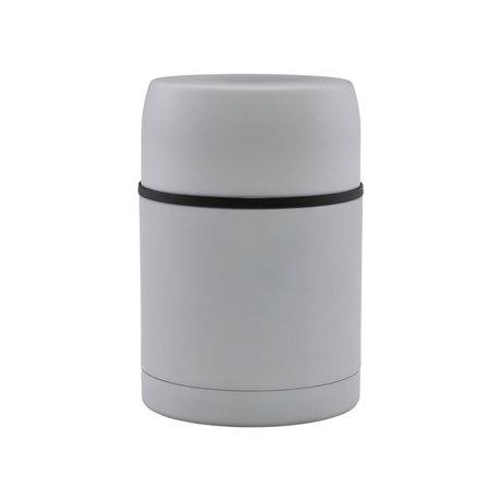 Housedoctor Thermos Fiole en acier gris clair Ø10x15.5cm