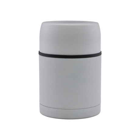 Housedoctor Thermos flask Matt light gray steel Ø10x15.5cm