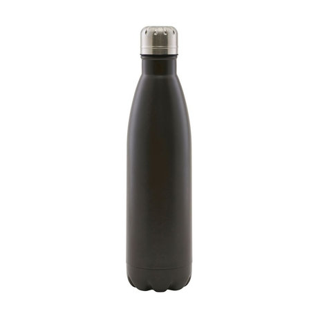 Housedoctor Thermos flask Matt brown steel 500ml Ø7x28cm