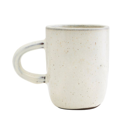 Housedoctor Mug Imma off-white earthenware Ø8x10cm
