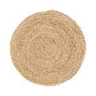 Housedoctor Placemat Circle naturel bruin corn husk set van 4 Ø38cm