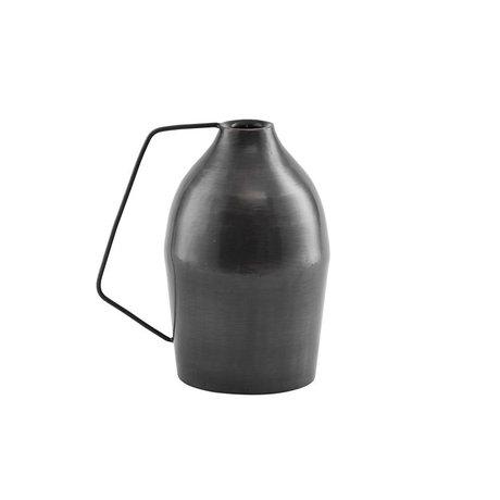 Housedoctor Candleholder Vigi black iron Ø8.5x17cm