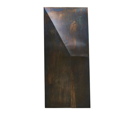 Housedoctor Kunstrahmen Fold Design antikes braunes Eisen 75x170cm