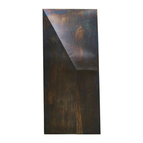 Housedoctor Art frame Fold Design antique brown iron 75x170cm