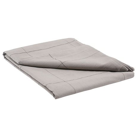 Housedoctor Nappe Irra gris coton 330x140cm