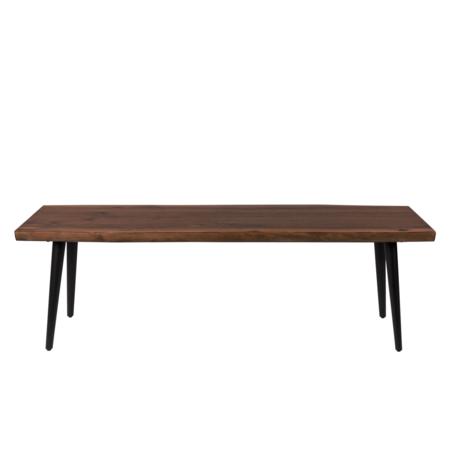 DUTCHBONE Banc de salle à manger Alagon brun bois 140x40x45cm