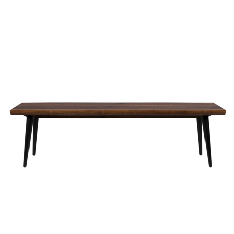 Dutchbone Dining room bench Alagon brown wood 160x40x45cm
