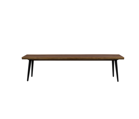 Dutchbone Esszimmerbank Alagon braunem Holz 180x40x45cm