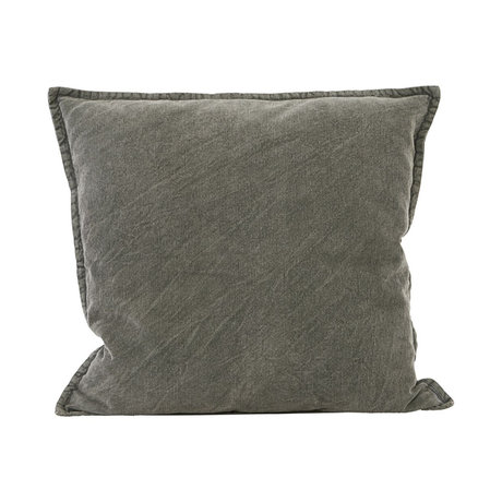 Housedoctor Cushion cover Cur dark gray cotton 50x50cm