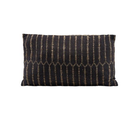 Housedoctor Ritika 3 cushion cover black black textile 50x30cm