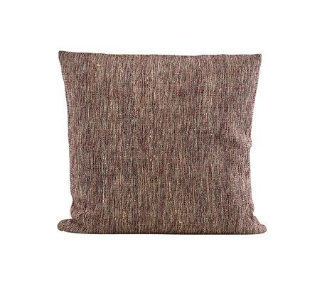 Housedoctor Kissenbezug Riti rotbraun Textil 50x50cm