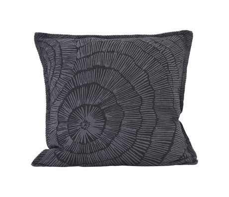 Housedoctor Cushion cover Paper gray linen 50x50cm