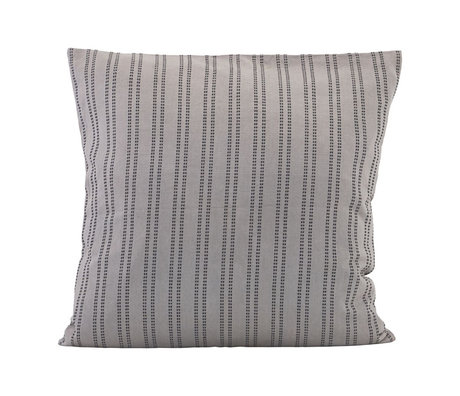 Housedoctor Additonal gray cotton cushion cover 60x60cm