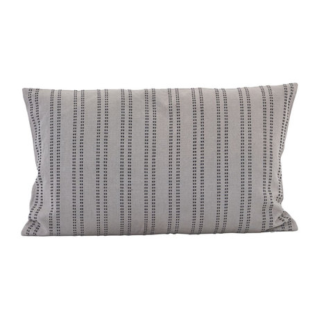 Housedoctor Additonal gray cotton cushion cover 50x30cm