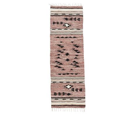 Housedoctor Tapis Tribu multicolore textile 240x70cm