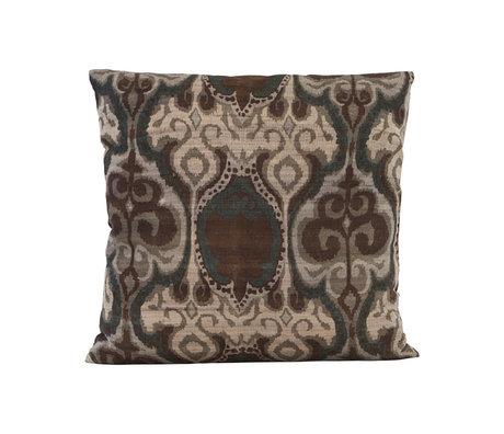 Housedoctor Enveloppe de coussin Laha vert multicolore textile 50x50cm