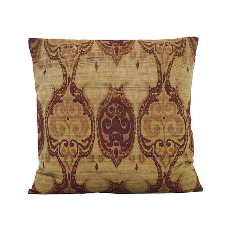 Housedoctor Enveloppe de coussin Thia vert multicolore textile 50x50cm