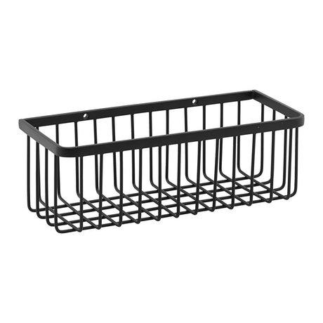 Housedoctor Basket rack black steel S 28x11x9.5cm