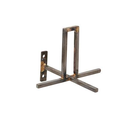 Housedoctor Porte-rouleau Ajouter fer antique 13x13x8cm