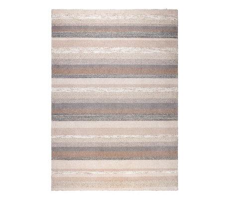 DUTCHBONE Vloerkleed Arizona bruin textiel 170x240cm