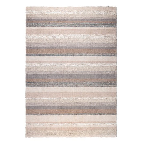 DUTCHBONE Tapis Arizona marron textile 170x240cm