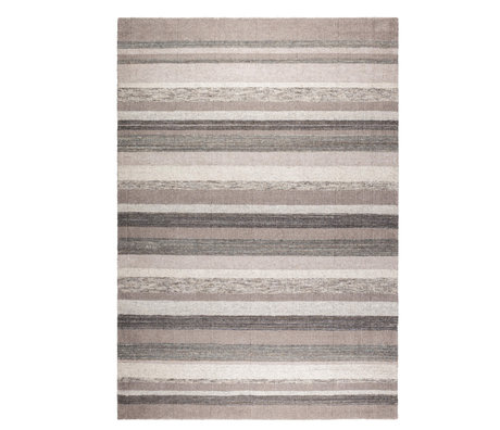 DUTCHBONE Tapis Arizona gris textile 170x240cm