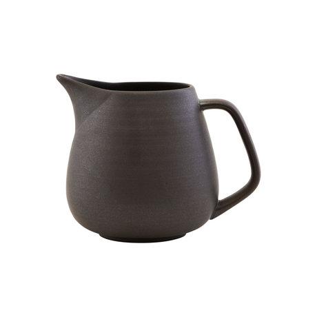 Nicolas Vahe Can Forrest brown earthenware Ø15x15cm