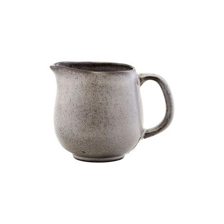 Nicolas Vahe Kan Stone grijs aardewerk Ø10x10cm