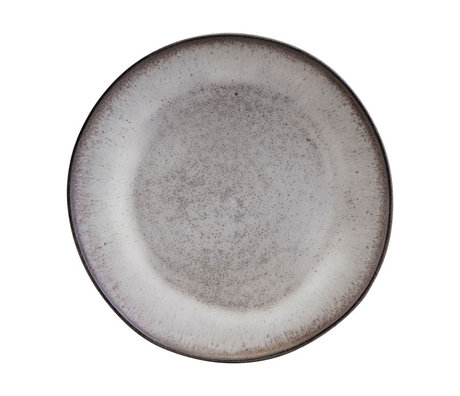 Nicolas Vahe Stone plate earthenware Ø28cm