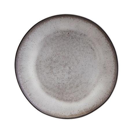 Nicolas Vahe Bord Stone grijs aardewerk Ø28cm