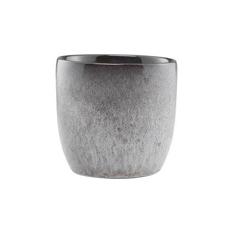 Nicolas Vahe Mug Stone gray earthenware Ø8x8cm