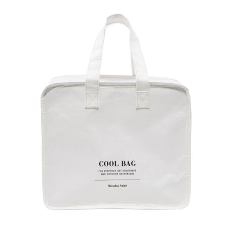Nicolas Vahe Koeltas Cool Bag wit kraftpapier 28x24cm