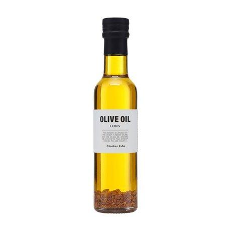 Nicolas Vahe Huile d'olive aux zestes de citron 250ml