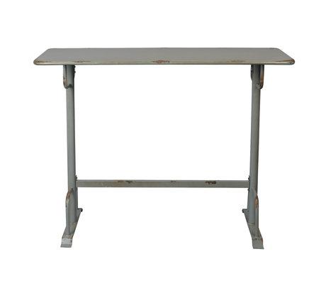Dutchbone Bar table Declan gray metal 140x50x104cm